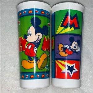 Tupperware Disney Mickey Mouse Cups